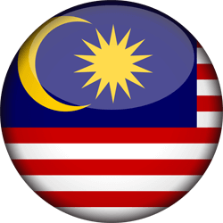 Malaysia flag vector - free download