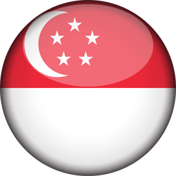 Singapore flag vector - free download