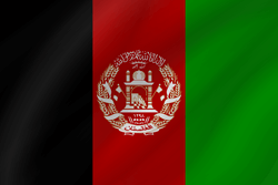Flag of Afghanistan - Wave