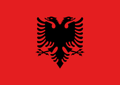 Image result for albanian vector flag""