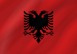 Flagge Albaniens Bild - Gratis Download