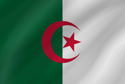 Flag of Algeria - Wave