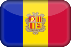 Andorra vlag vector - gratis downloaden