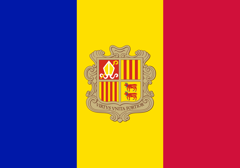 Andorra vlag package