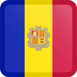 Andorra vlag icon - gratis downloaden