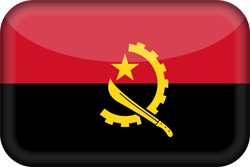 Flagge von Angola Icon - Gratis Download