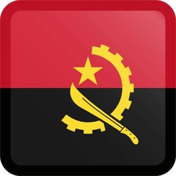 Flagge von Angola Bild - Gratis Download