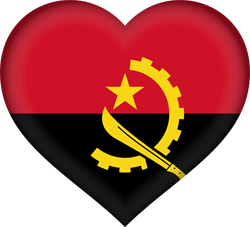 Angola flag icon - free download