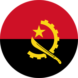 Angola vlag vector - gratis downloaden