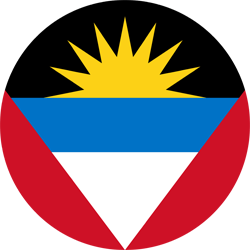 Flag of Antigua and Barbuda - Round