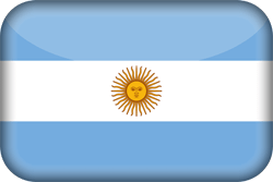 Argentinië vlag icon - gratis downloaden