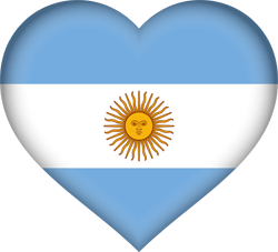 Argentine flag vector - free download