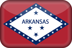 Flag of Arkansas - 3D