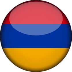 Flag of Armenia - 3D Round