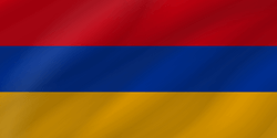 Flag of Armenia - Wave