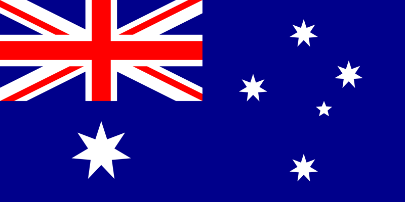 Australia flag package