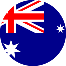 Australia flag icon - free download