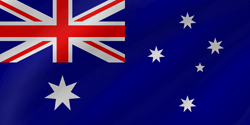 Flag of Australia - Wave