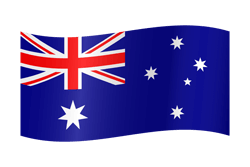 Flag of Australia - Waving
