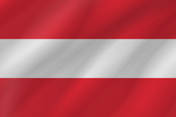 Flag of Austria - Wave