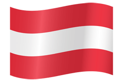 Flag of Austria - Waving