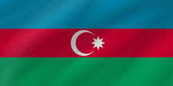Flag of Azerbaijan - Wave