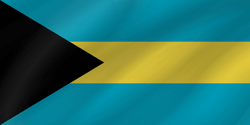 Flag of the Bahamas - Wave