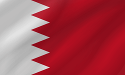 Flag of Bahrain - Wave