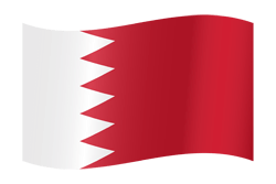 Flag of Bahrain - Waving