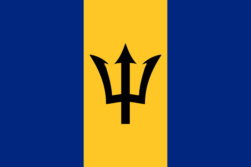 Barbados vlag package