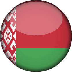 Wit-Rusland vlag icon - gratis downloaden