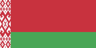 Flagge der Republik Belarus - Original