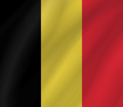 Flag of Belgium - Wave