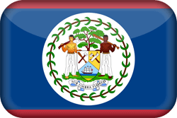 Flag of Belize - 3D