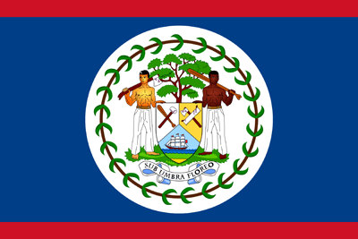 Flagge von Belize - Original