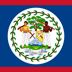 Flag of Belize - Square