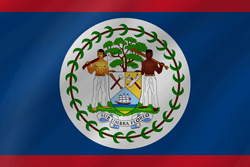 Flag of Belize - Wave