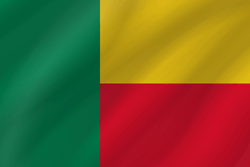 Flag of Benin - Wave
