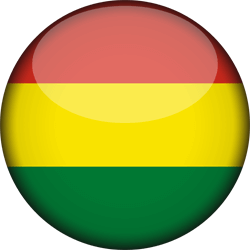 Flag of Bolivia - 3D Round