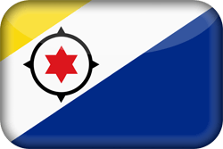 Flag of Bonaire - 3D