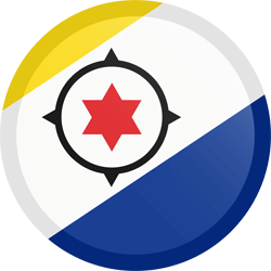 Flag of Bonaire - Button Round