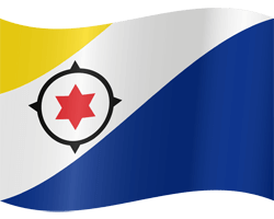 Flag of Bonaire - Waving