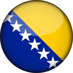 Flagge von Bosnien und Herzegowina Icon - Gratis Download