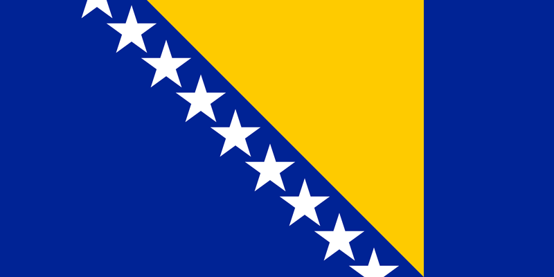 Bosnië en Herzegovina vlag package