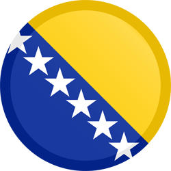 Bosnia and Herzegovina flag clipart - free download