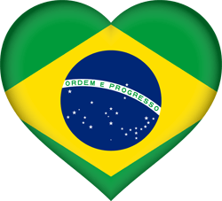 Brazil flag icon - free download