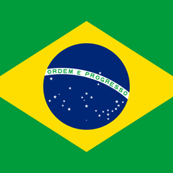 Flag of Brazil - Square