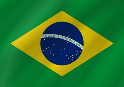 Flag of Brazil - Wave