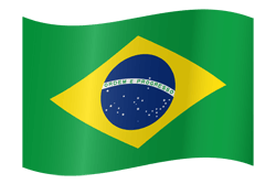 Flag of Brazil - Waving