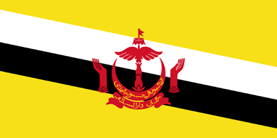 Flagge von Brunei Bild - Gratis Download